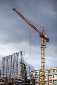 16.03.2017 Szpital Bielany - budynek techniczny - fot. Szymon Z