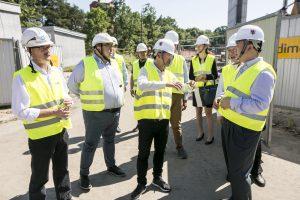 30.07.2017 Torun Wizyta delegacji z Prowincji Hubei w Toruniu. Fot. Andrzej Goinski